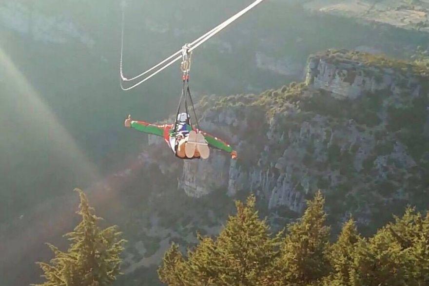 Flight over Cilento
