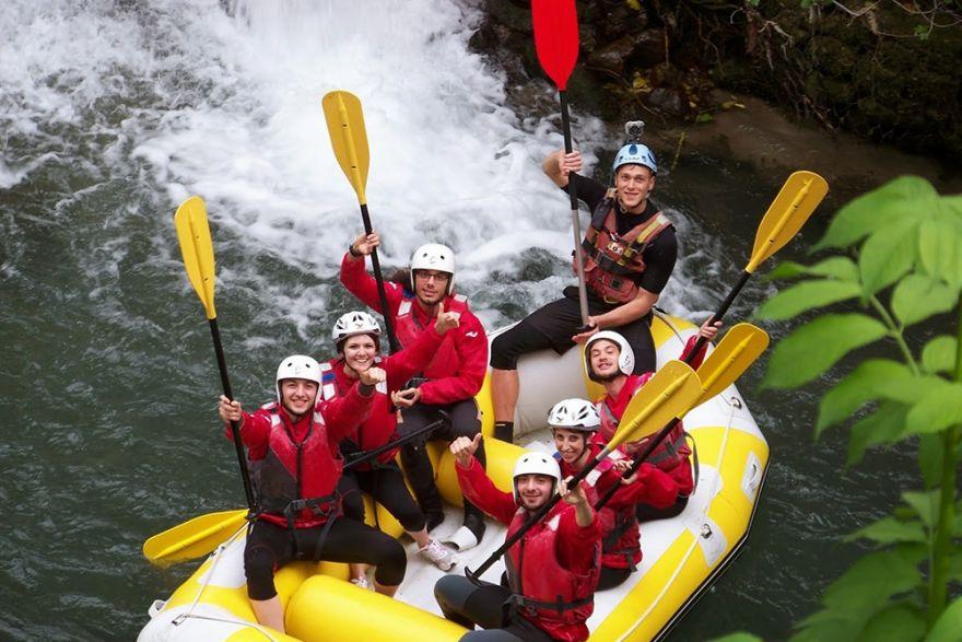 Rafting a Pertosa